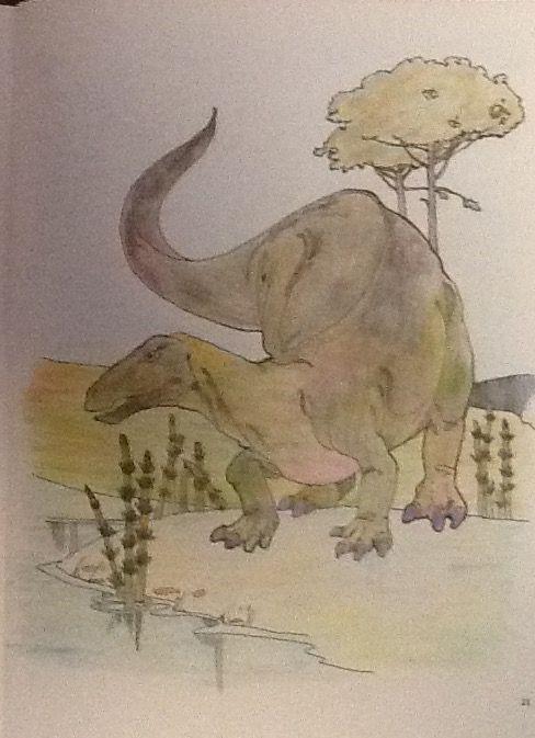 Mejores 38 imágenes de The Dinosaur Coloring Book en Pinterest ...