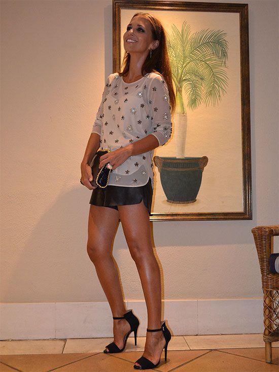 Paula Echevarria: T-shirt