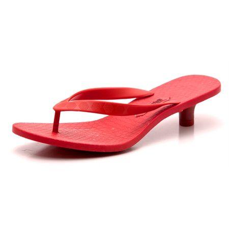 vizzano kitten heel jelly flip flops | Footwear | Pinterest ...