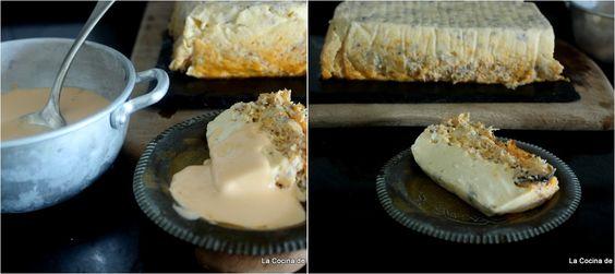 Espectacular pastel perfecto para servir en grandes ocasiones. Te explican la receta desde el blog LA COCINA DE LAS CASINAS.