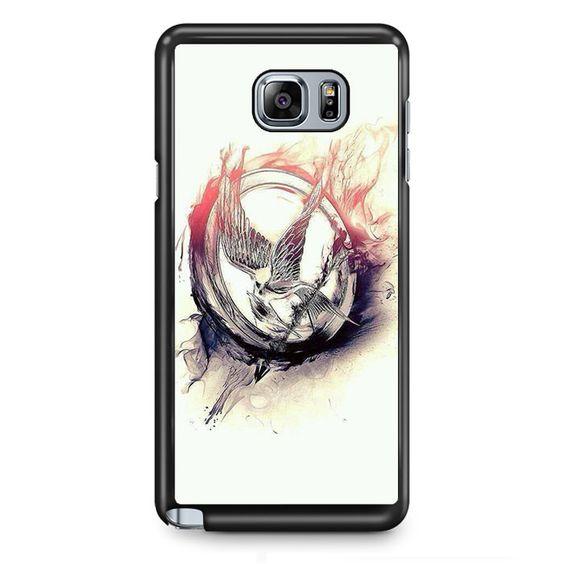 Hunger Games Arts TATUM-5400 Samsung Phonecase Cover Samsung Galaxy Note 2 Note 3 Note 4 Note 5 Note Edge