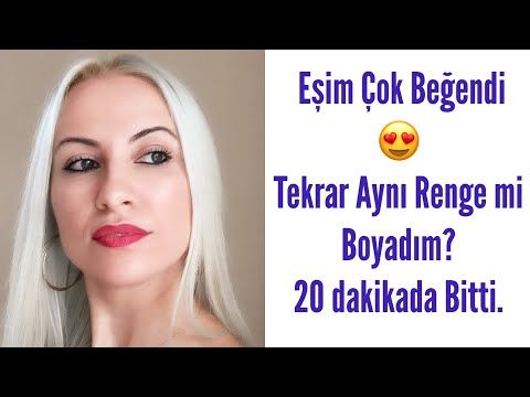 Evde Platin Sac Boyama Saclarim Yandi Mi Palette Acici Youtube Sari Sac Boyalari Sac Boyasi