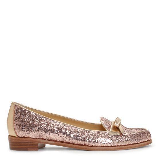 Kate Spade 'Cora' Glitter Loafers ... Adorable :)