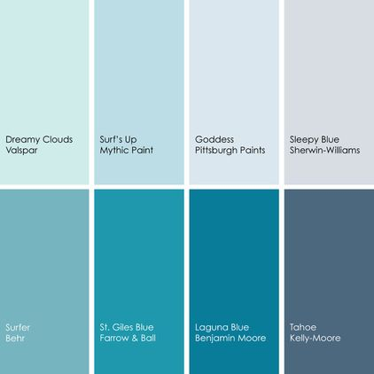 blue paint picks for bedrooms clockwise from top left 1