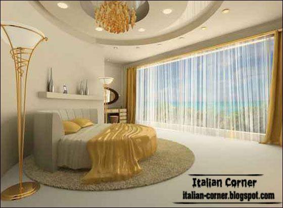 luxury bedrooms designs   modern Italian bedroom design with luxury round  bed and calm design   GET COMFORTABLE    Pinterest   Luxury bedroom design. luxury bedrooms designs   modern Italian bedroom design with