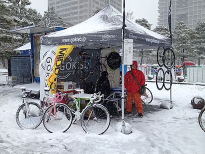 Yu Takenouchi Cyclocross Tokyo 2014 MIDLAND was also supported.