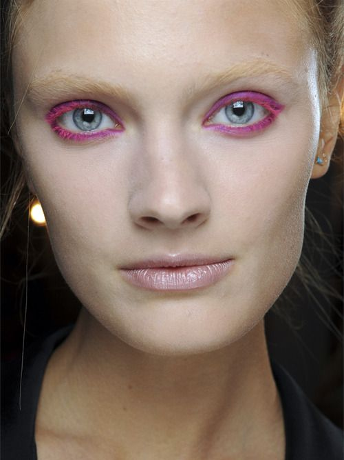 Pink liner - Nude lips