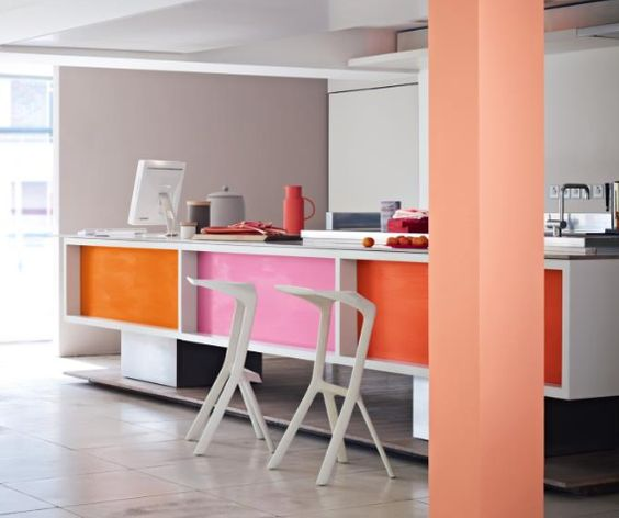 Add a pop of colour to your kitchen with Rock Candy 2 & Bongo Jazz 1