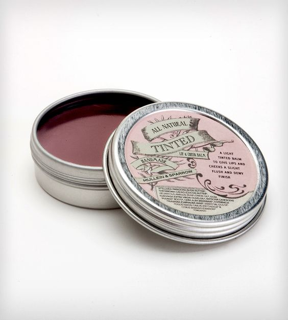 Tinted Lip & Cheek Stain - I love the vintage look of this container