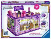 Ravensburger heeft een nieuwe reeks 3D puzzels voor meiden: Girly Girl 3D Puzzle. Bloemenvazen, pennenbakjes, opbergdozen en juwelenbomen.