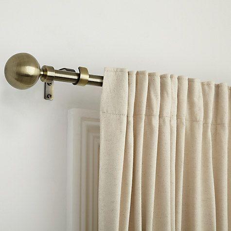 Buy John Lewis Steel Extendable Curtain Pole Kits Dia 16 19mm