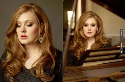 Gorgeous Adele and her beautiful hair | CHECK OUT MORE IDEAS AT WEDDINGPINS.NET | #weddings #weddinghair #hairstyles #fashionhair #newhair #forweddings
