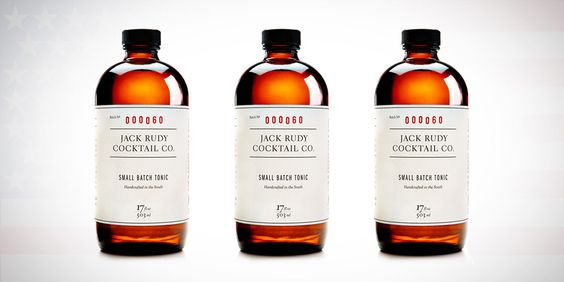 Jack Rudy Cocktail Co. — The Dieline - Branding & Packaging