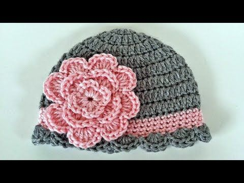 NEW Baby Girl Crochet Large Flower Knit Headband 0-12 months
