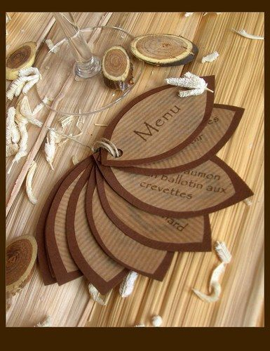 Tables album and photos on pinterest for Idee menu original
