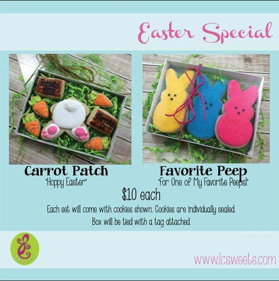 Box sets- Bunny and peeps