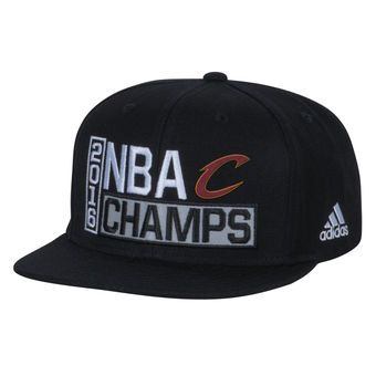 Cleveland Cavaliers Black 2016 NBA Finals Champions Locker Room Snapback Adjustable Hat