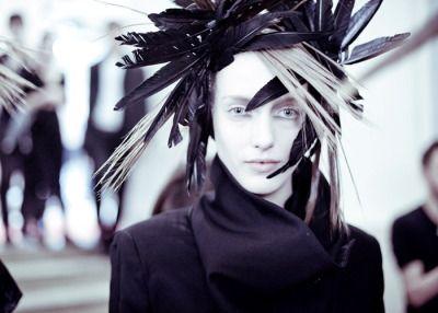 thefashioncurator: Ann Demeulemeester F/W 2012