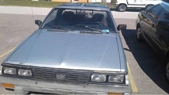 1986 Subaru Brat 4cyl 4spd For Sale In St Petersburg Florida