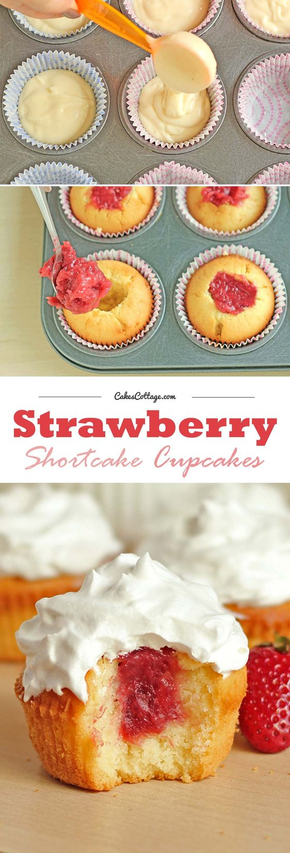 Strawberry Shortcake Cupcake, Strawberry Shortcake and Strawberries ...
