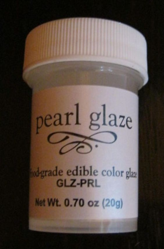 Edible Pearl Glaze 20g fondant gum paste cake decorating ...