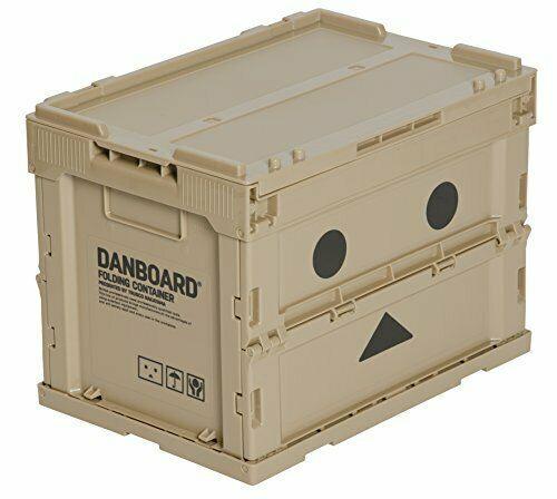 TRUSCO Danboard Folding Container Case Strage Box 20L