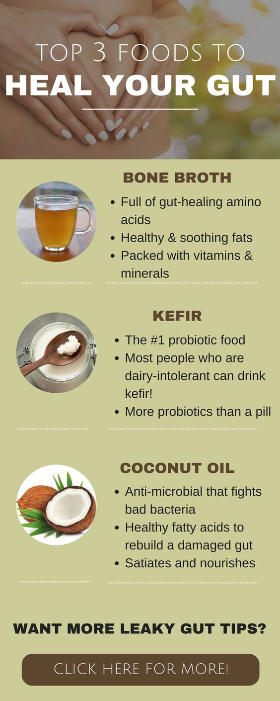 These foods heal your leaky gut, rebuild your digestive system, and fill your…