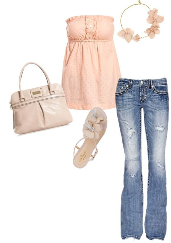 """summer!"" by christinamcoffman on Polyvore"