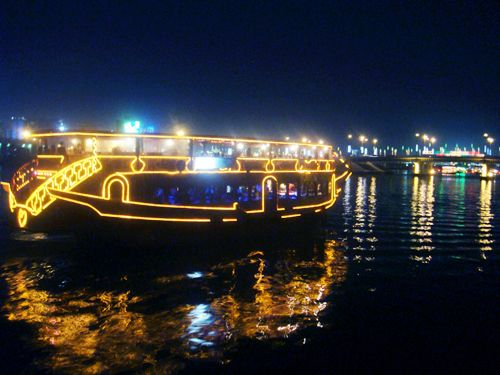 Enjoy Dhow Cruise Trip Along With Your Family - for booking details: http://dubaidhow.com/dhow-cruise-booking/