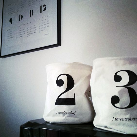 "Deco ""House Doctor"" Bag #design #danishdesign #danishdecor #decoration #bag #rangement #sac #interior @housedoctordk"