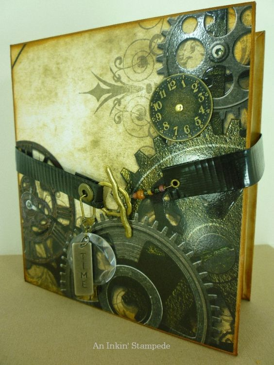 Scrapbook - for the love of gears...  :)