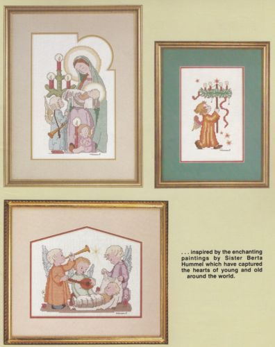 Hummel-Christmas-Designs-Vol-2-Gloria-amp-Pat-Cross-Stitch-Pattern-Book-5078