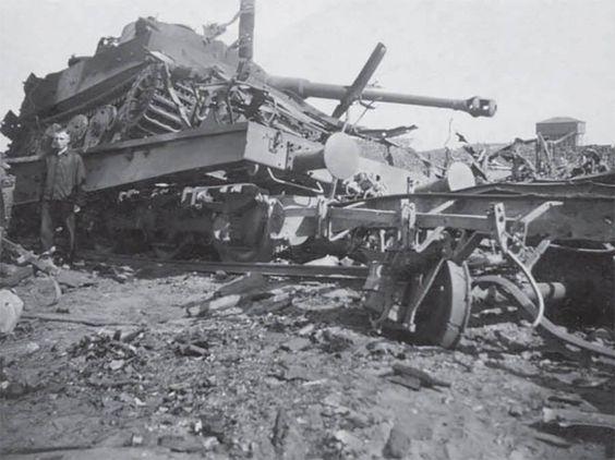 Grossdeuchland Tiger1 destroyed.