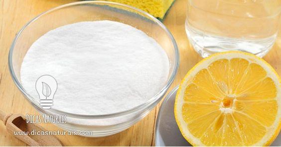 Limão e bicarbonato de sódio – uma combinação miraculosa para a sua saúde!