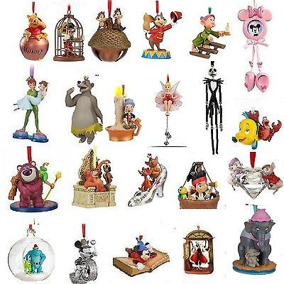 Disney ornaments 2010 2011 2012 and new 2013 sketchbook List of christmas ornaments