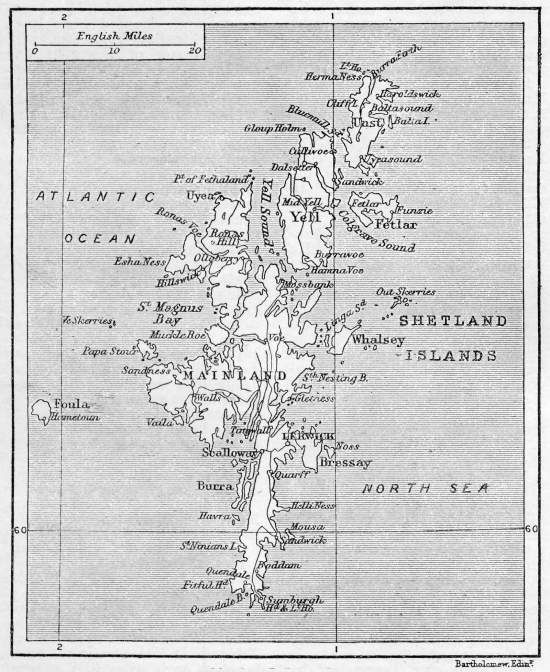 Map of Shetland Islands 1906 | Maps and blueprints | Pinterest ...