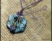 Polymer Clay Pendant  also made to order! contact me on zanacrafts@gmail.com   Shirl :o) https://www.etsy.com/uk/listing/191411676/handmade-polymer-clay-pendant?ref=shop_home_active_15