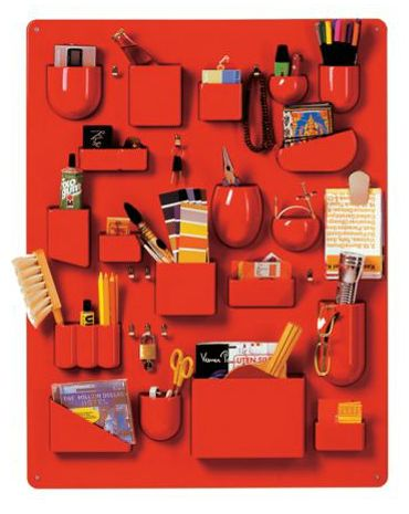 Uten.Silo I in Red, designed by Dorothee Becker, produced by Vitra.