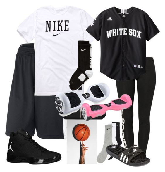 """""""Untitled #681"""" by carl1231 ❤ liked on Polyvore featuring NIKE, Beats by Dr. Dre, CO, adidas Originals and adidas"""