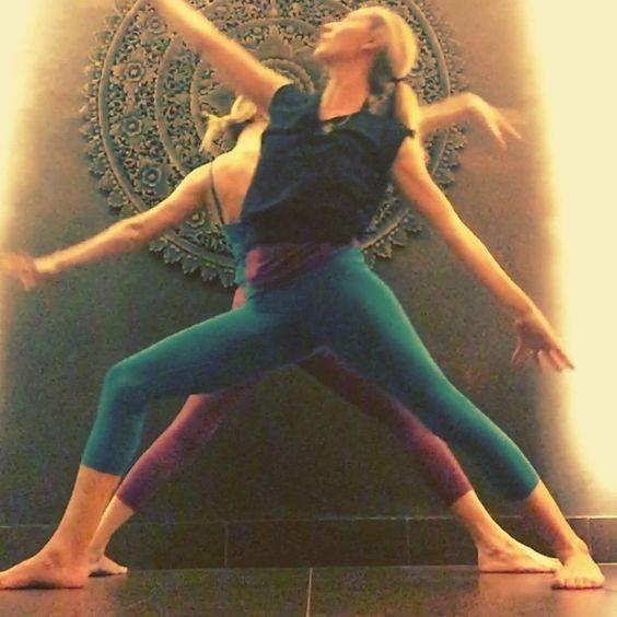 """Mandala flow @jlomlove still moving after her incredible HOT class at PURE! @pureyoganyc @tbnewyork #pureyoganyc #pureyoga #transforminspireeveryday #urbanlegend #tanyab"