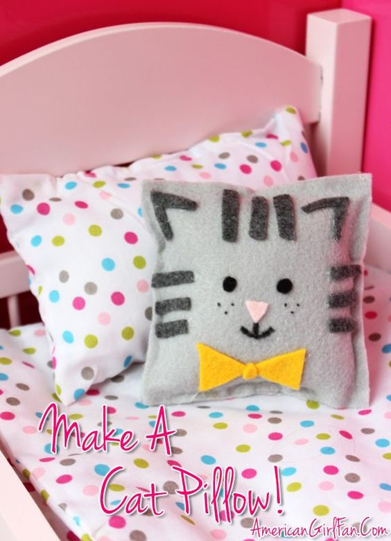 how to make a doll bed