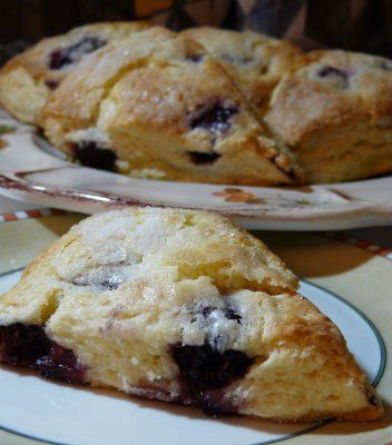 Blackberry Scones by Thibeault's Table Note: Can use any frozen