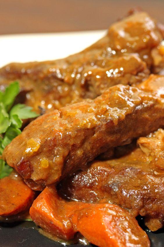 Curried Pork Ribs6