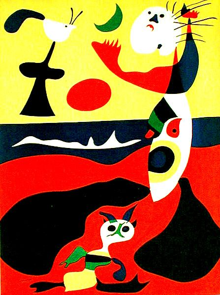 joan miro surrealism and spanish on pinterest