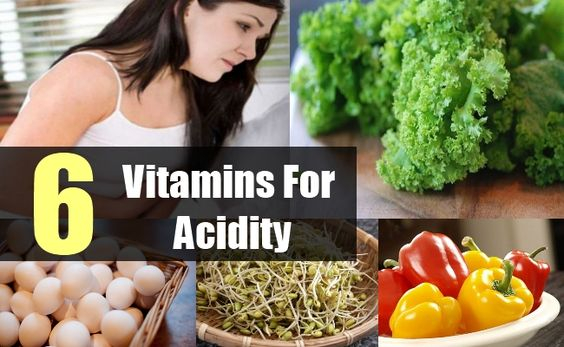 6 Important Vitamins For Acidity