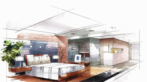 stylish-interior-design-sketches-over-interior-design-sketchbook.jpg (1273×718)