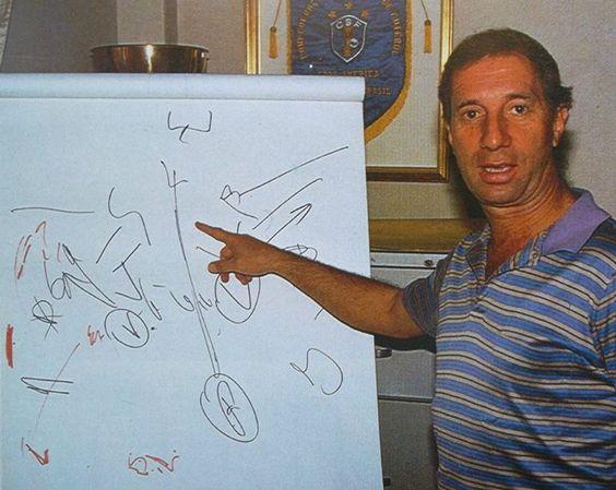 Carlos Bilardo y su tactica.