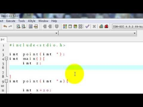 C Programming pointer use in function for beginners