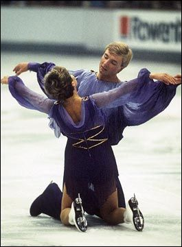 I can still remember watching the stunning performance of Torvill and Dean's amazing Bolero that won them the Gold at the Olympics.