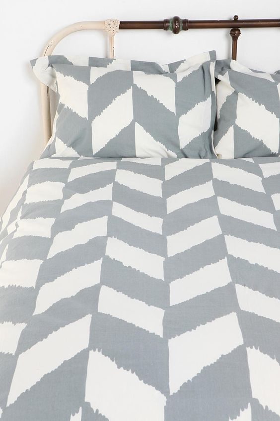 UrbanOutfitters.com > Herringbone Sham - Set of 2